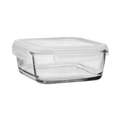 Зображення Ємність з пластиковою кришкою FIT FOR FOOD Прозорий V:1150 мл. 10212938