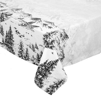 Зображення Скатертина ROYAL HEIGHTS Білий в поєднанні 160х160 см. 10213001