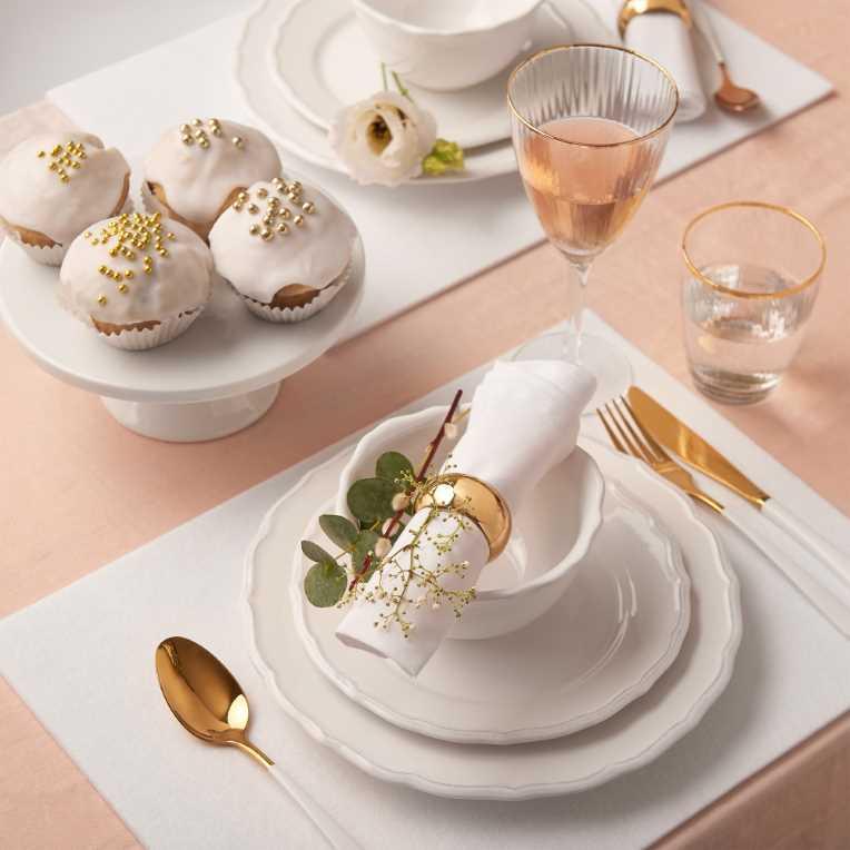Зображення Блюдо EMPIRE Білий O:15 см. 10213216