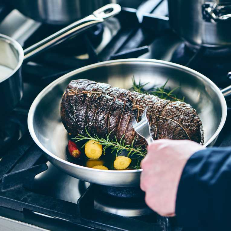 Зображення Виделка для мяса SOUL COOKING Срібний L:34 см. 10213289