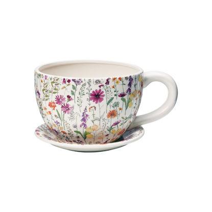 Зображення Горщик для квітів PLANT A CUP Комбінований 30х22.5х15 см. 10213357