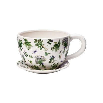 Изображение Горшок для цветов PLANT A CUP Зеленый 30х22.5х15 см. 10213359