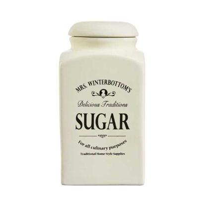 Зображення Ємність для зберігання цукру MRS. WINTERBOTTOM'S Білий 10.5х10.5х20.5 см. V:1300 мл. 10213384