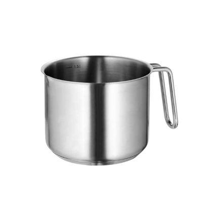 Зображення Ємність-Мірка для молока SOUL COOKING Срібний O:14 см. V:1500 мл. 10213491