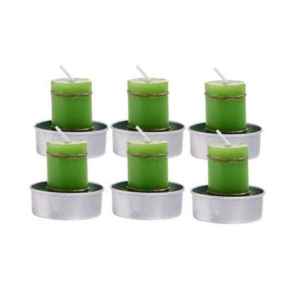 Зображення Свічка FLAMBEAU Зелений 10213501