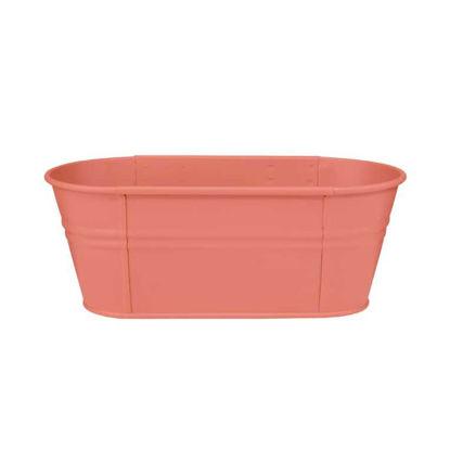 Зображення Горщик для квітів ZINC Рожевий L:40 см. 10213826