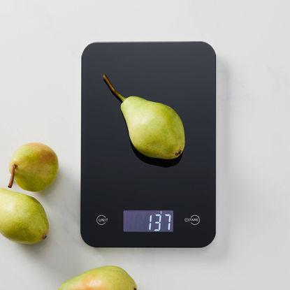 Изображение Весы кухонные COUNT ON ME Черный 23х15х1 см. H:1 см. L:23 см. 10213895