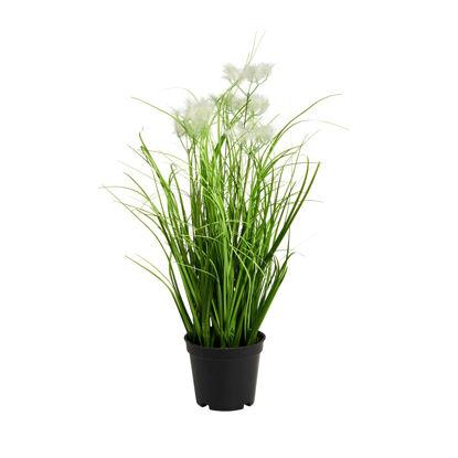 Зображення Вазон штучний FLORISTA Зелений H:34 см. 10213930
