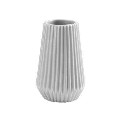 Изображение Ваза для цветов RIFFLE Серый H:13.5 см. 10214168