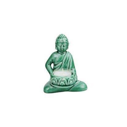 Изображение Фигура будды BUDDHA Зеленый H:12.3 см. 10214172
