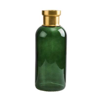 Изображение Ваза GRACE Зеленый H:25 см. 10214351