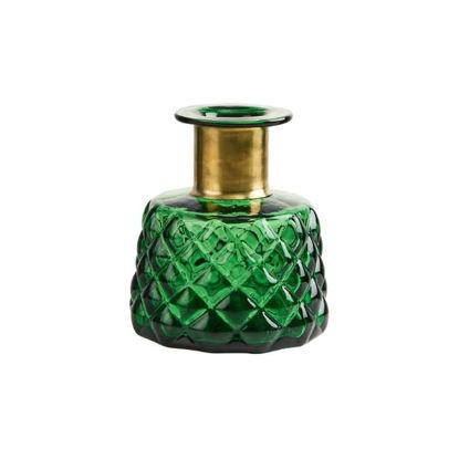 Изображение Ваза GRACE Зеленый H:14 см. 10214352