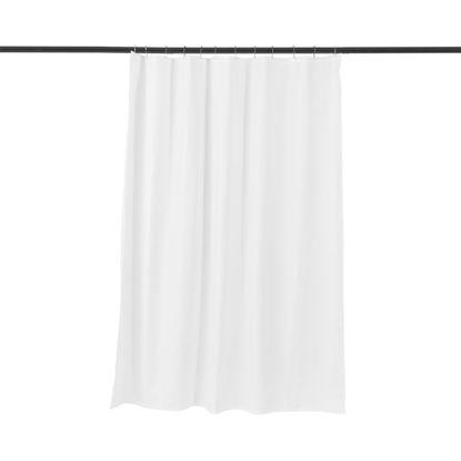 Зображення Завіса для душу WET WET WET Білий 180х200 см. 10214366