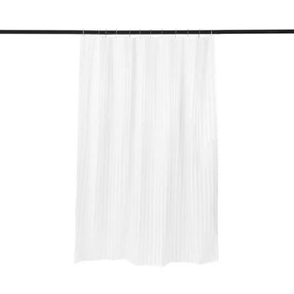 Зображення Завіса для душу WET WET WET Білий 180х200 см. 10214367