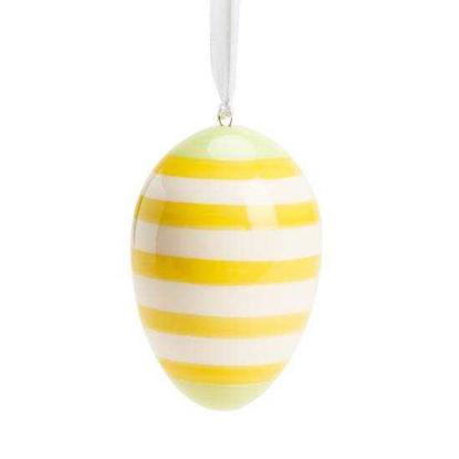 Изображение Яйцо декоративное EASTER Желтый H:8 см. 10214431