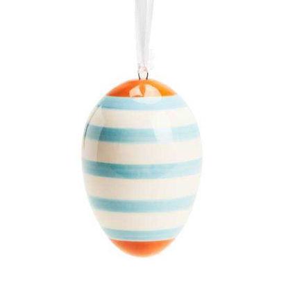 Зображення Яйце декоративне EASTER Блакитний в поєднанні H:8 см. 10214432