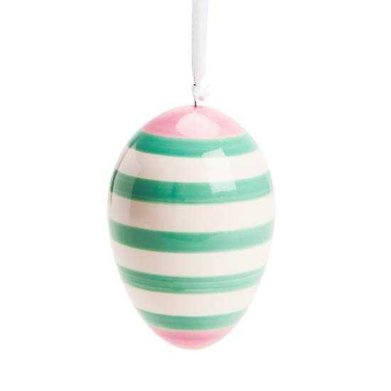 Зображення Яйце декоративне EASTER Зелений в поєднанні H:8 см. 10214433