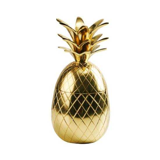 Зображення Ваза декоративна GOLDEN NATURE Золотий 20 см. 10214595