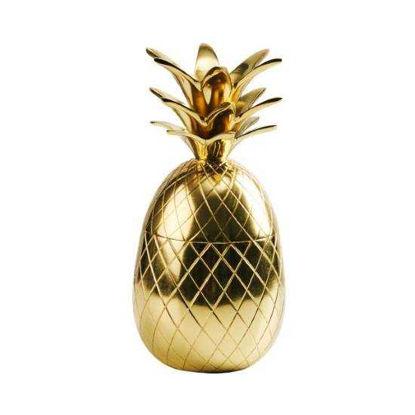 Изображение Ваза декоративная GOLDEN NATURE Золотой 20 см. 10214595