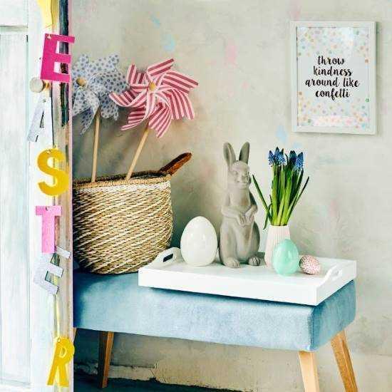 Зображення Вітряк декоративний WINDY Синій 75 см. 10214757