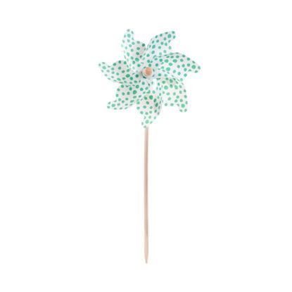 Изображение Мельница декоративная WINDY Зеленый 75 см. 10214758