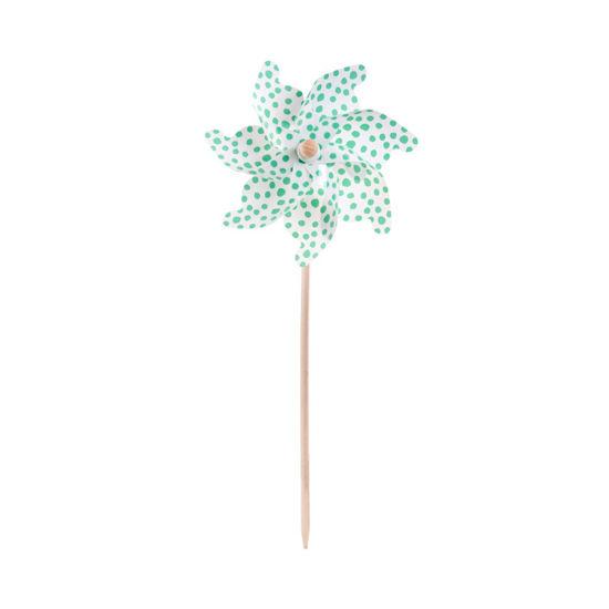 Зображення Вітряк декоративний WINDY Зелений 75 см. 10214758