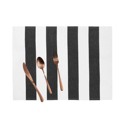 Зображення Підставка під тарілки LA LINEA Білий в поєднанні 35х45 см. 10214786