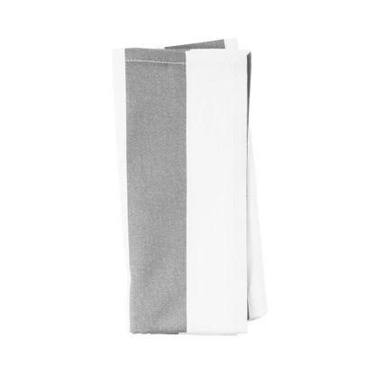 Изображение Салфетка LA LINEA Белый в сочетании 45х45 см. 10215010