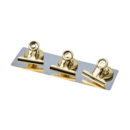 Изображение Клипсы декоративные металлические HANG ON Золотой 10215085
