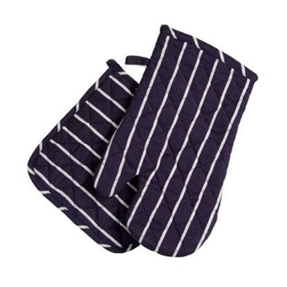 Зображення Набір для духової шафи (рукавичка та підхватка) BUTCHERSTRIPE Фіолетовий 10215109