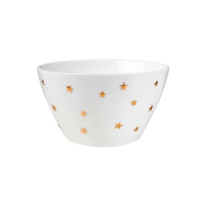 Зображення Піала GOLDEN STAR Білий в поєднанні O:13.5 см. 10215523
