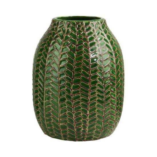 Зображення Ваза WILD GREEN Зелений H:19 см. 10215714