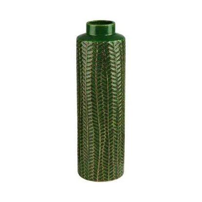 Зображення Ваза WILD GREEN Зелений H:40 см. 10215720