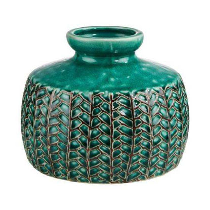 Зображення Ваза WILD GREEN Зелений H:13 см. 10215731