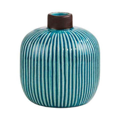 Зображення Ваза WILD GREEN Блакитний в поєднанні H:17 см. 10215733