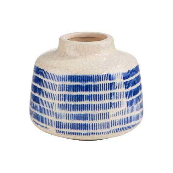 Зображення Ваза COTE SAUVAGE Синій в поєднанні H:9.8 см. 10215734