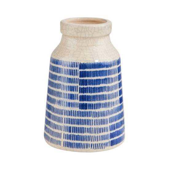 Изображение Ваза COTE SAUVAGE Синий в сочетании H:14.5 см. 10215739