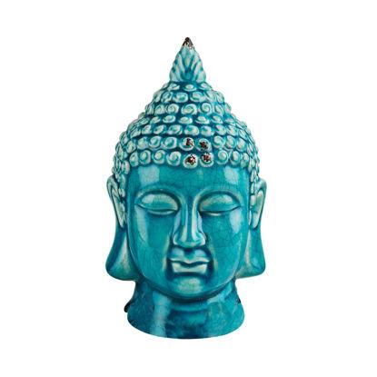 Изображение Голова будды декоративная BUDDHA Голубой 10215745