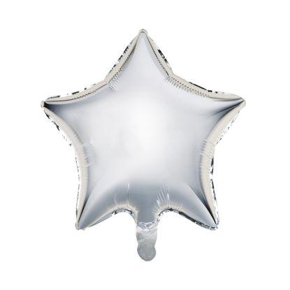 Зображення Кулька повітряна UPPER CLASS Срібний 10215756