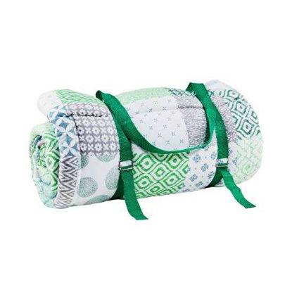 Изображение Плед для пикника PICNIC DELUXE Зеленый 140х180 см. 10215849