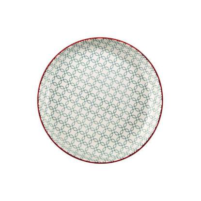 Изображение Тарелка RETRO Зеленый O:21 см. 10215871