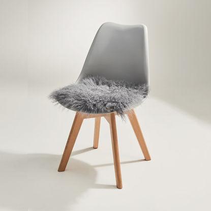 Изображение Подушка на стул TASHI Серый 35х35 см. 10215892