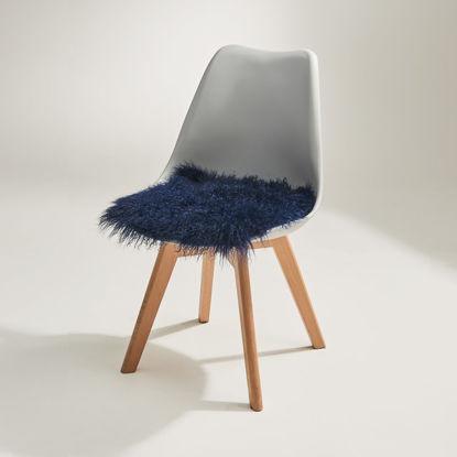 Изображение Подушка на стул TASHI Синий 35х35 см. 10215893