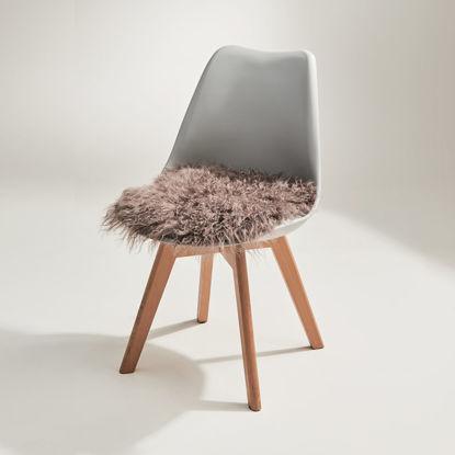 Изображение Подушка на стул TASHI Коричневый 35х35 см. 10215894