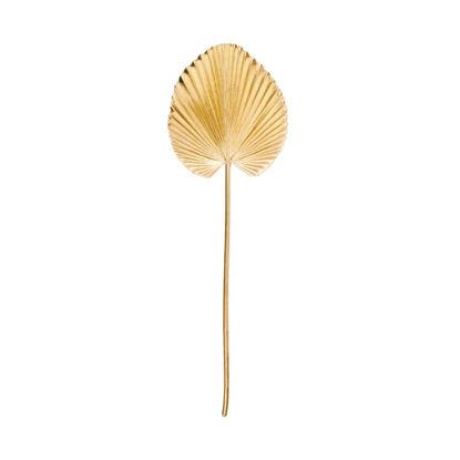 Изображение Ветка искусственная WINTERGREEN Золотой H:75 см. 10215951