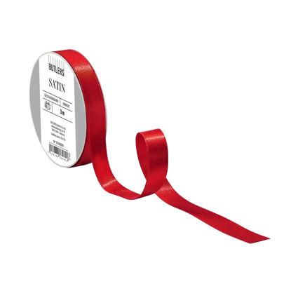 Зображення Стрічка SATIN Червоний 500х1.5 см. H:1.5 см. L:500 см. 10215968