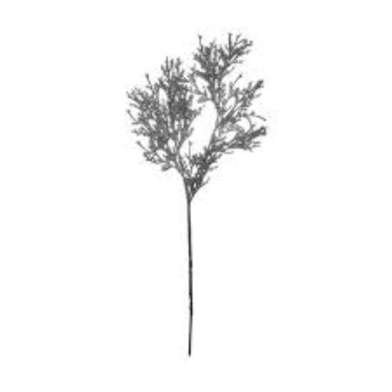 Зображення Гілка штучна WINTERGREEN Сірий H:81 см. 10216089