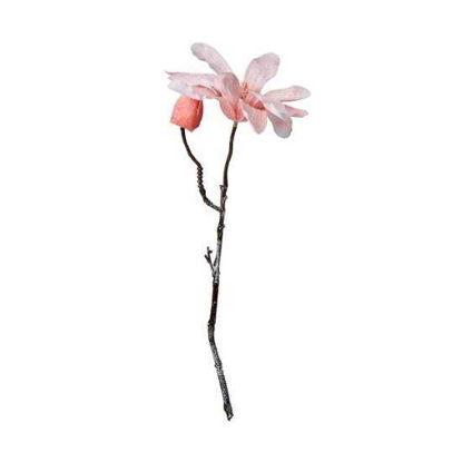 Изображение Магнолия искусственная WINTERGREEN Розовый H:32 см. 10216108