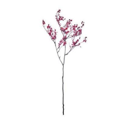 Изображение Ветка искусственная WINTERGREEN Розовый 103 см. 10216110
