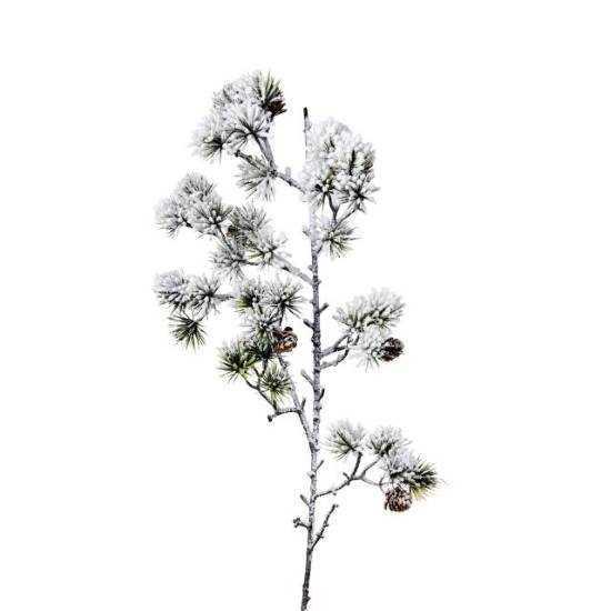 Зображення Гілка штучна WINTERGREEN Зелений в поєднанні L:83 см. 10216114